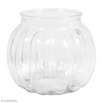 Vase en verre - Bombé - 15 x 15 x 13 cm