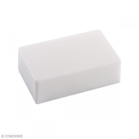 Moule pour savon et béton - Bloc rectangulaire 10,5 x 6,5 cm - Photo n°1