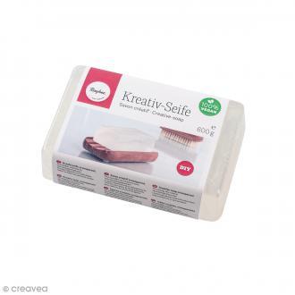 Bloc de savon créatif - Transparent - 600 g