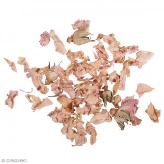 Fleur séchée - Pétales de roses - 5 g