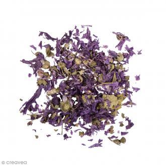 Fleur séchée - Fleurs de mauves - 3 g