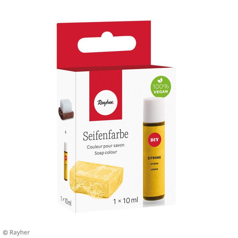 Colorant pour savon - Citron - 10 ml - Photo n°3