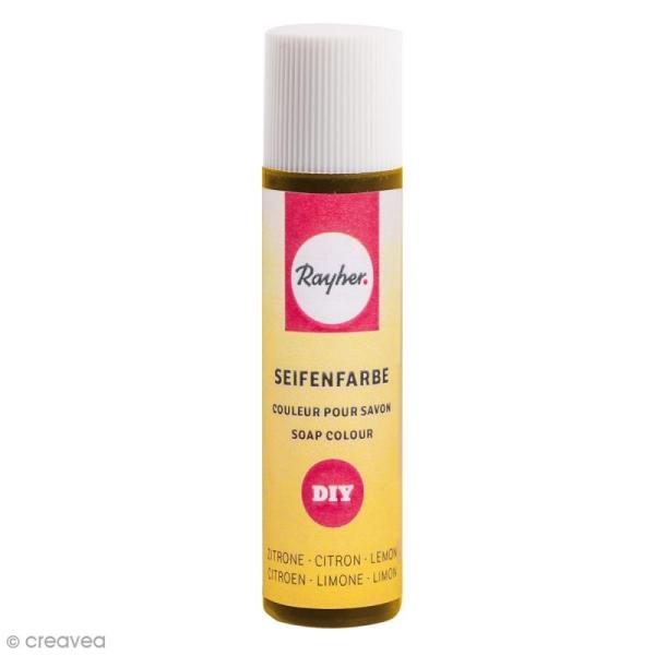 Colorant pour savon - Citron - 10 ml - Photo n°1