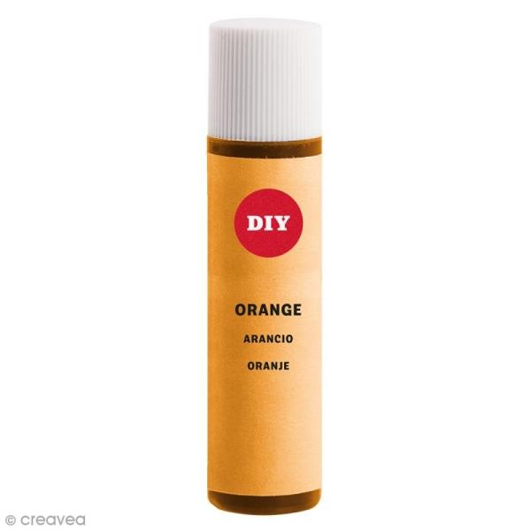 Colorant pour savon - Orange - 10 ml - Photo n°1