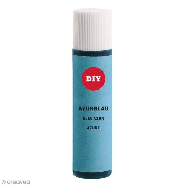 Colorant pour savon - Bleu azur - 10 ml - Photo n°1