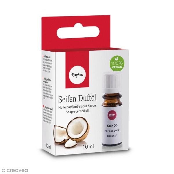 Huile parfumée pour savon - Noix de coco - 10 ml - Photo n°1