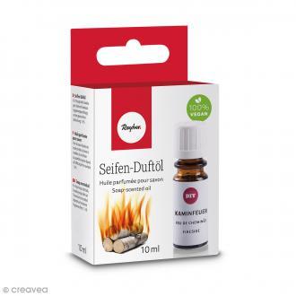 Huile parfumée pour savon - Feu de cheminée - 10 ml