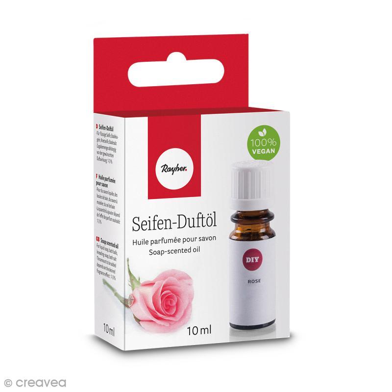 Huile parfumée pour savon - Rose - 10 ml - Photo n°1
