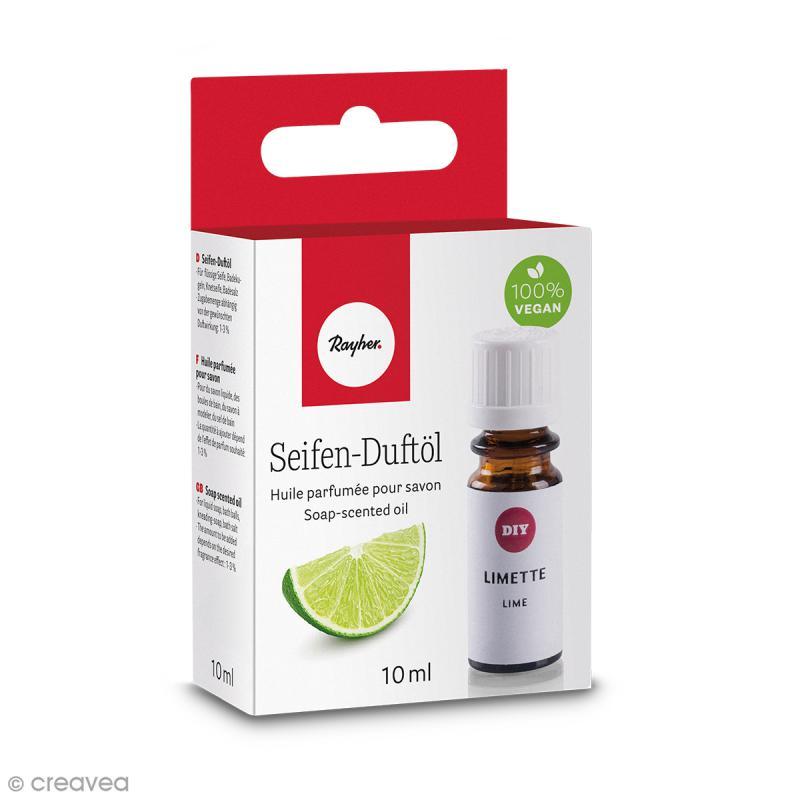 Huile parfumée pour savon - Limette - 10 ml - Photo n°1