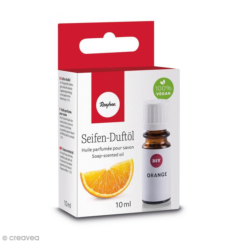 Huile parfumée pour savon - Orange - 10 ml - Photo n°1