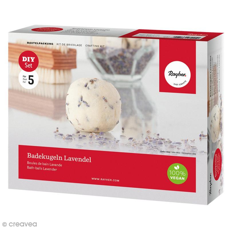Kit boules de bains Lavande - Photo n°1
