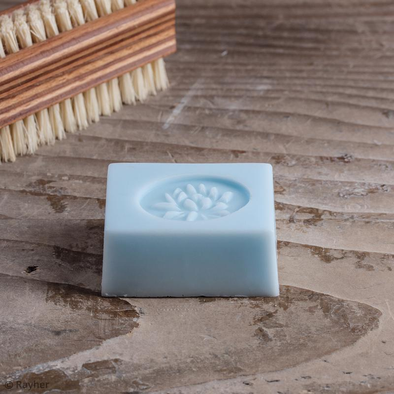 Labels La vie est belle et nénuphar - Tampons pour savon 35 x 25 mm - 2 pcs - Photo n°2