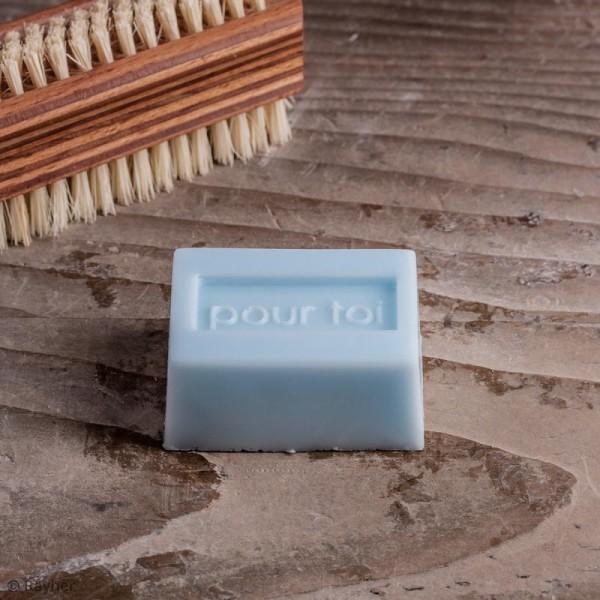 Labels Merci, Pour toi et Unique - Tampons pour savon De 3 à 5 cm - 3 pcs - Photo n°3