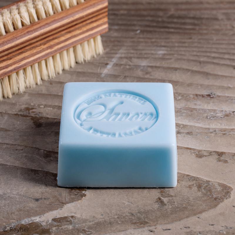 Label Naturel artisanal - Tampon pour savon 45 mm - Photo n°3