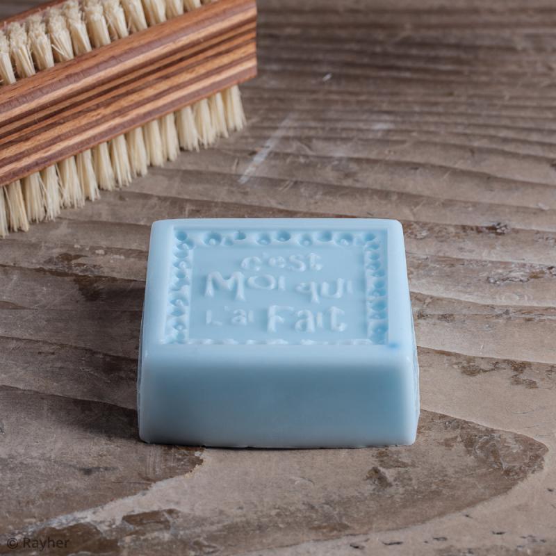 Label C'est moi qui l'ai fait - Tampon pour savon 50 x 50 mm - Photo n°2