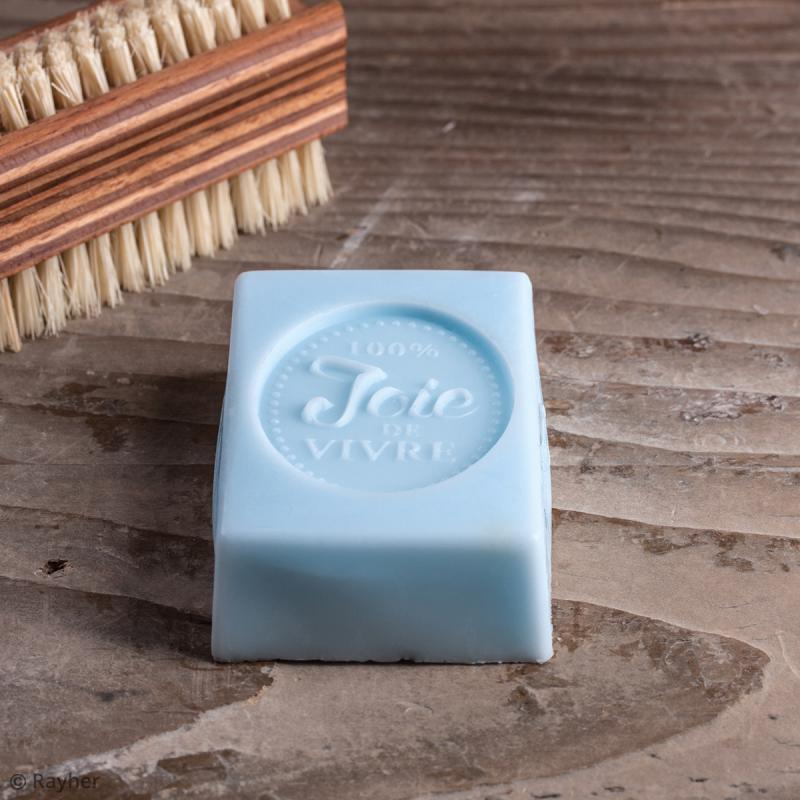 Label Joie de vivre - Tampon pour savon 40 x 55 mm - Photo n°2