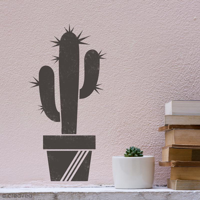 Pochoir multiusage A4 - Cactus - 8 motifs - Photo n°3