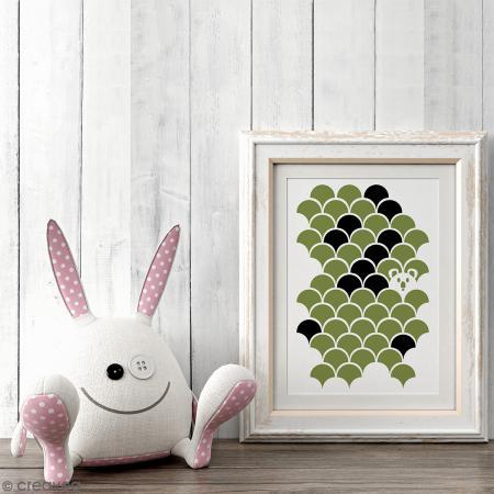 Pochoir home déco A4 - Koala inspiration Japon - Photo n°3