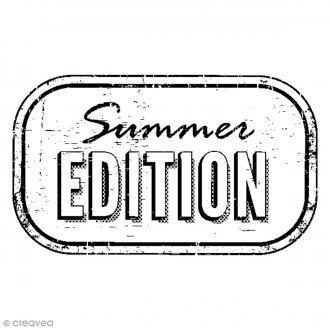 Tampon bois Summer Edition - 5,3 x 3,7 cm