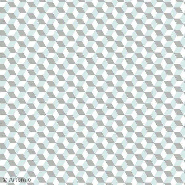 Papier Scrapbooking Artemio - Scandisweet - 30,5 x 30,5 cm - 40 pcs - Photo n°2
