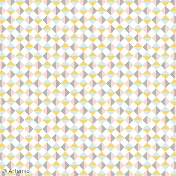 Papier Scrapbooking Artemio - Scandisweet - 30,5 x 30,5 cm - 40 pcs - Photo n°4