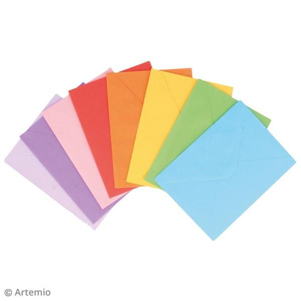 Set de cartes à colorier avec enveloppes - 16 pcs - Photo n°2
