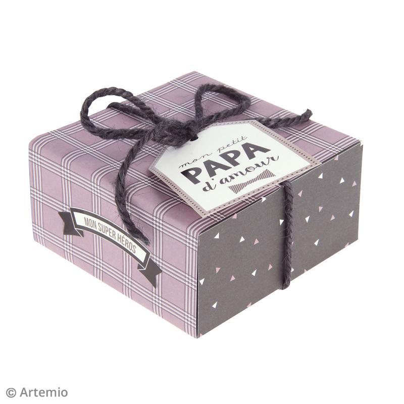 Kit fête des pères - Papiers et embellissements - Photo n°5