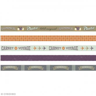 Masking Tape Artemio - Sweet Memories - 1,5 cm x 5 m - 5 pcs