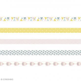 Masking Tape Artemio - Scandisweet - 1,5 cm x 5 m - 5 pcs
