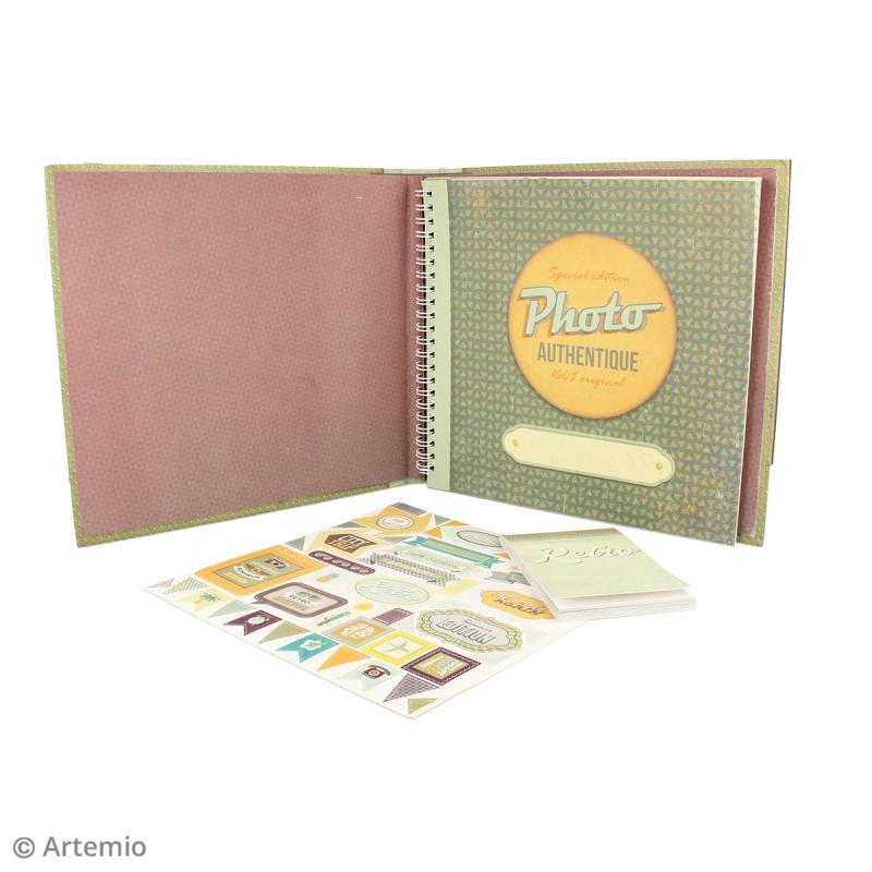Kit album Scrapbooking - Sweet memories - Photo n°2