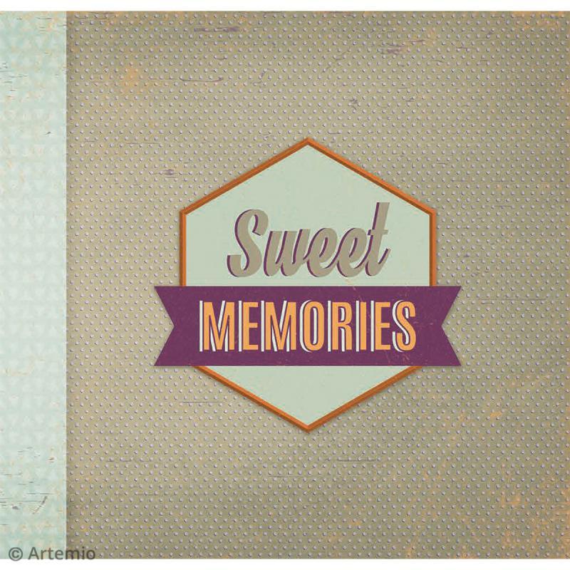 Kit album Scrapbooking - Sweet memories - Photo n°3