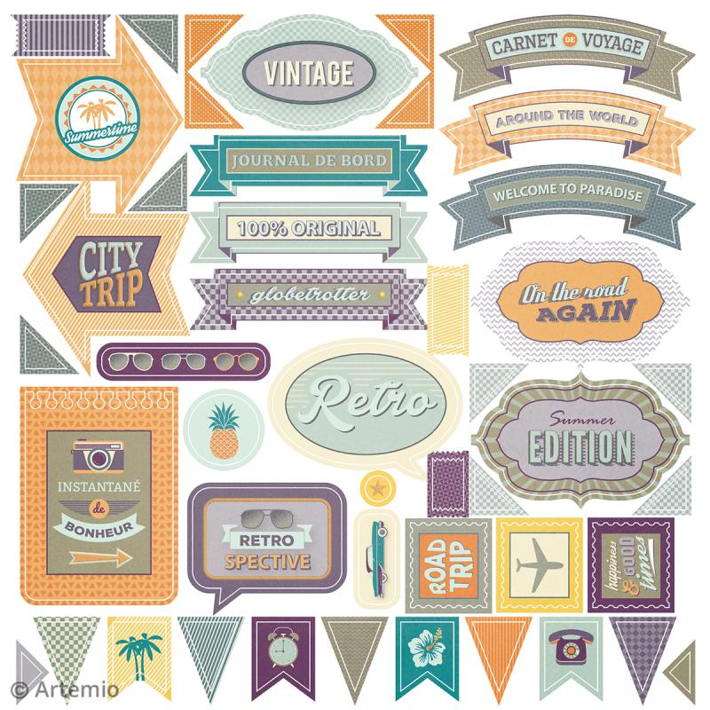 Kit album Scrapbooking - Sweet memories - Photo n°4
