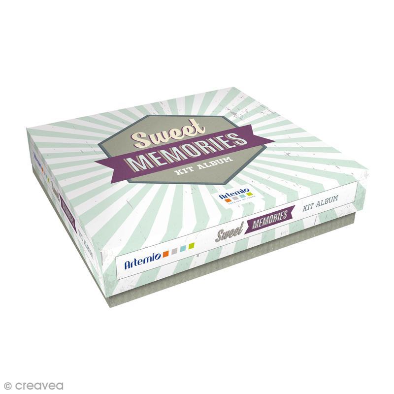 Kit album Scrapbooking - Sweet memories - Photo n°1