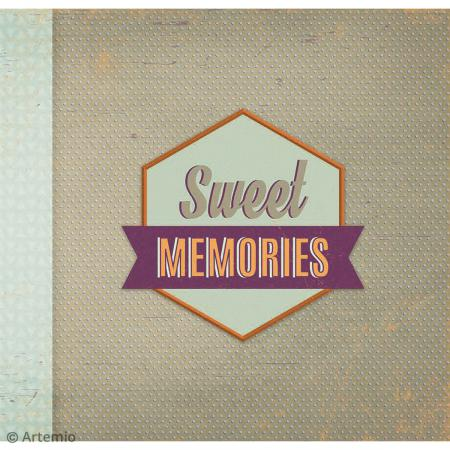 Kit album Scrapbooking - Sweet memories - Photo n°3