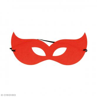 Masque en feutre - Star rouge