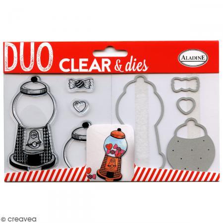 Pack Duo Clear & Dies - Bonbon - 8 pcs - Photo n°1