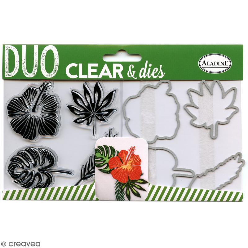 Pack Duo Clear & Dies - Tropical - 8 pcs - Photo n°1