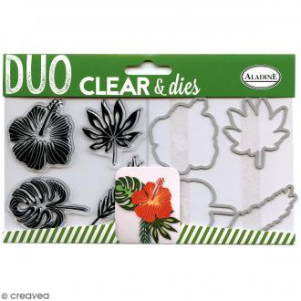 Pack Duo Clear & Dies - Tropical - 8 pcs