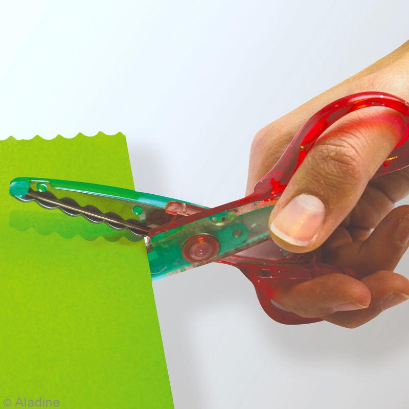 Ciseaux cranteurs pour enfants Colors Cut - 3 paires - Photo n°3