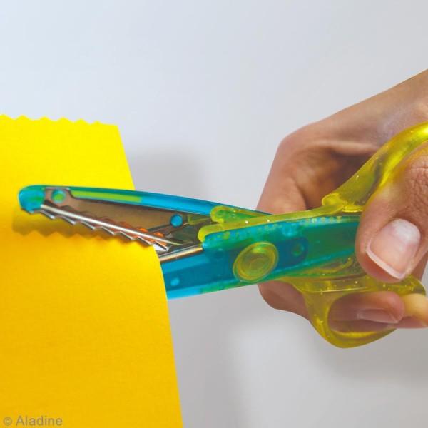 Ciseaux cranteurs pour enfants Colors Cut - 3 paires - Photo n°4