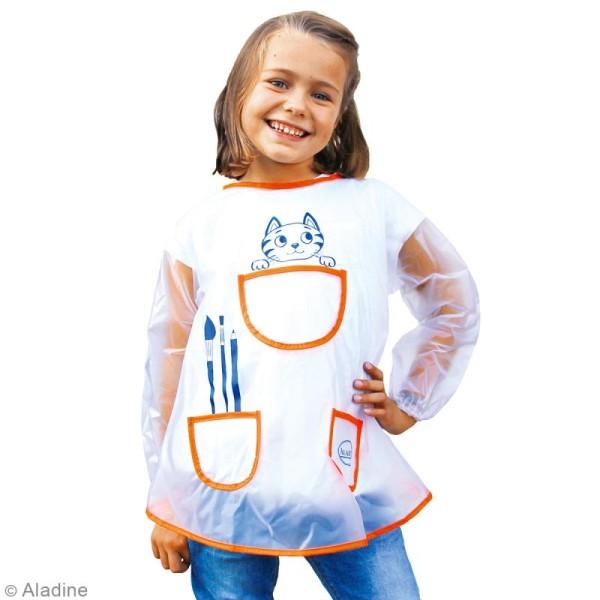Tablier de peinture pour enfant - Taille 5 à 8 ans - Photo n°2