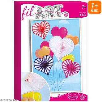 Coffret Fil'Art - Ballons coeur