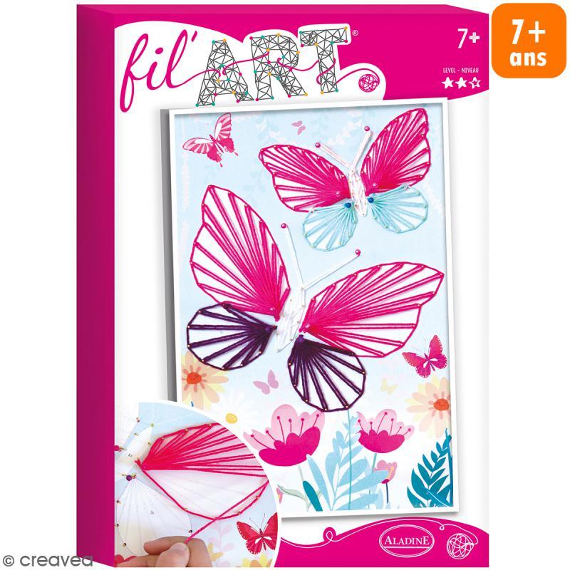 Coffret Fil'Art - Papillons - Photo n°1