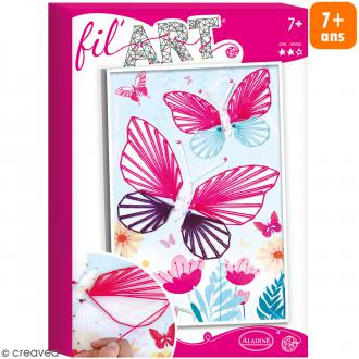 Coffret Fil'Art - Papillons