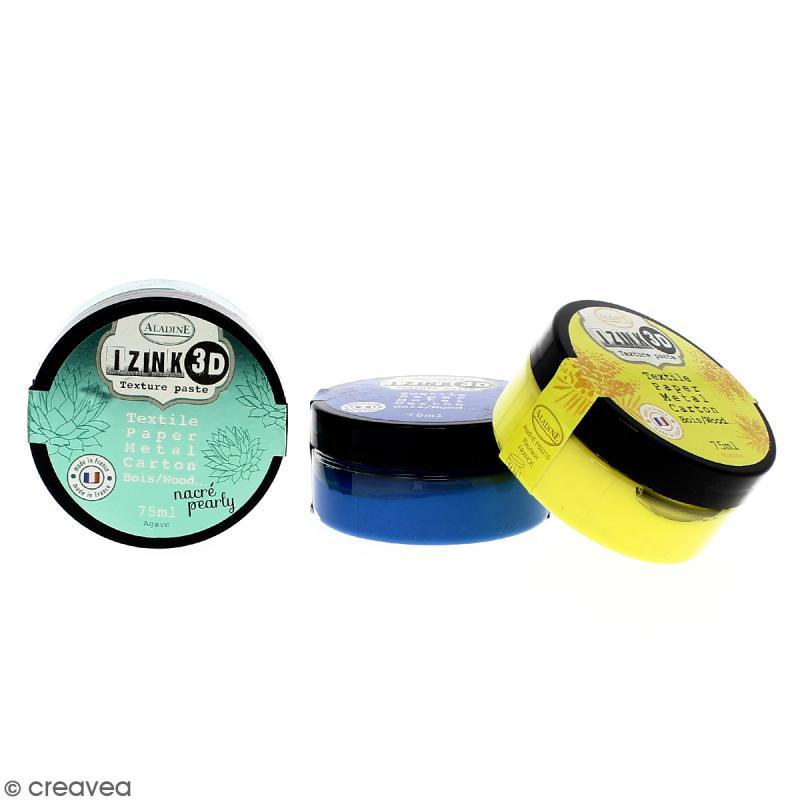 Pâte de texture Izink 3D - 75 ml - Photo n°1