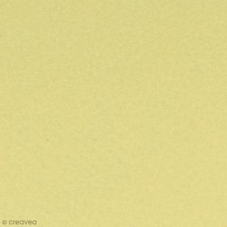 Feutrine épaisse - Pastel jaune - 2 mm