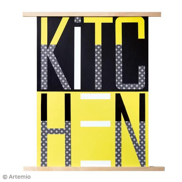 Suspension en bois pour poster - 32 x 1,8 cm - Photo n°2