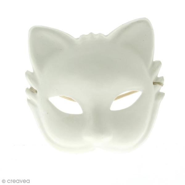 Masque de Venise Chat - 30 x 19 cm - Photo n°1