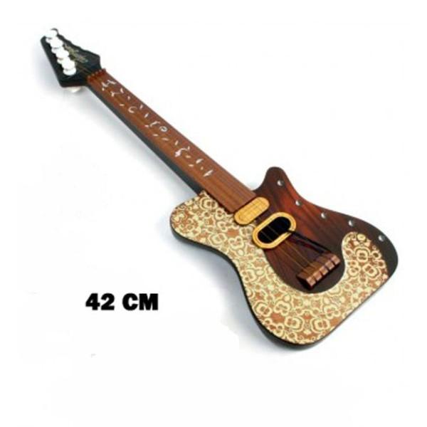 Guitare PVC 42 cm avec médiator décorée - Photo n°1
