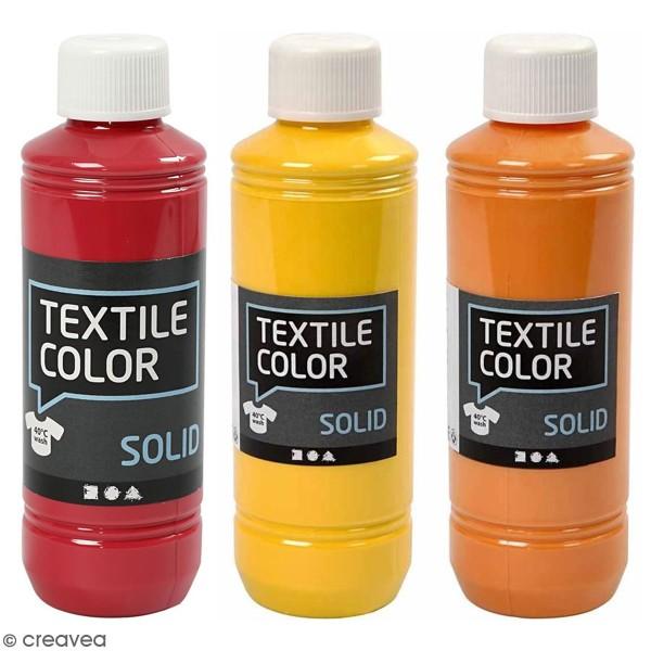 Peinture textile - Opaque - Différentes couleurs - 250 ml - Photo n°1